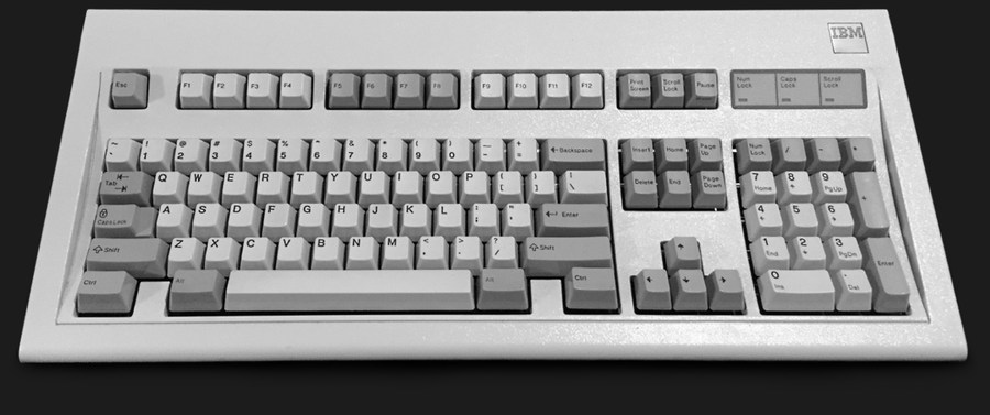 IBM keyboard model M